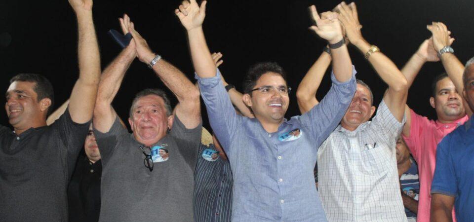 Onda Azul: Bruno Silva participa de evento político no povoado Monte Alegre
