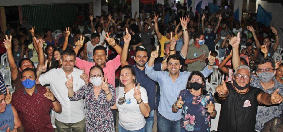 Casa Cheia: Ao lado de Bruno Silva, Nailson lança candidatura a vereador em Coelho Neto