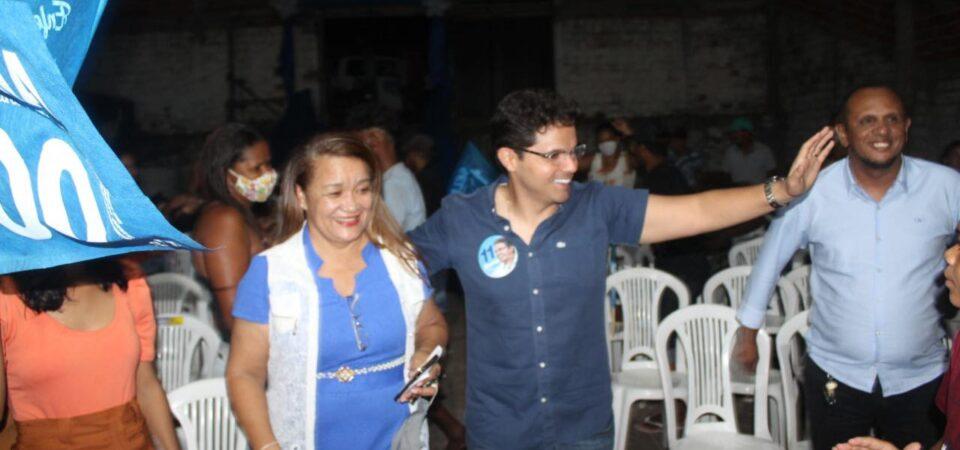 Bruno Silva participa do lançamento da candidatura a vereadora da enfermeira Selma