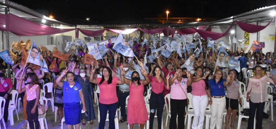 Grande evento reúne mulheres em apoio a Bruno Silva em Coelho Neto