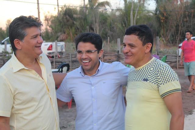 Bruno Silva cumpre agenda conjunta com Cláudio Furtado na zona rural de Coelho Neto
