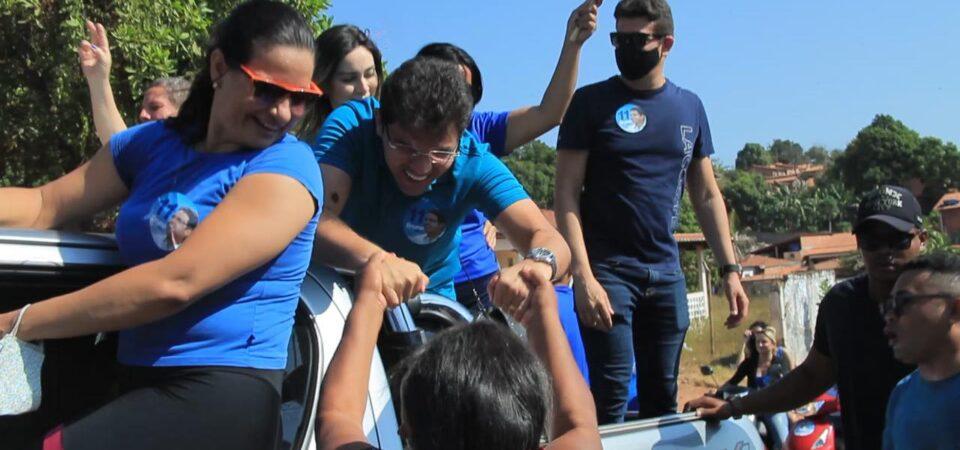 Imagem do Dia: Bruno Silva e o apoio que vem das ruas…