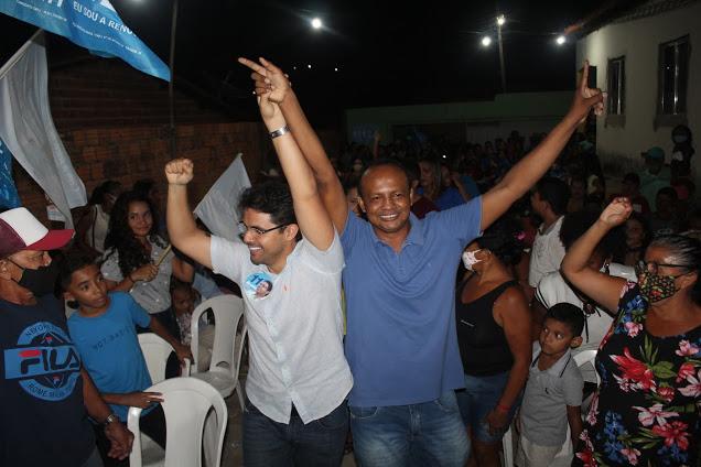 Bruno Silva participa de lançamento de candidatura a vereador de Lucas do Sarney