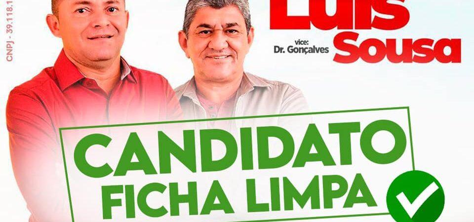 Luis Sousa tem candidatura a prefeito de Duque Bacelar deferida pela Justiça Eleitoral