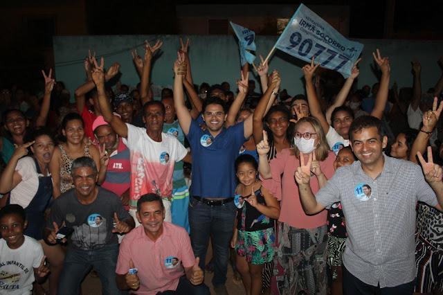 Bruno Silva participa de lançamento da candidatura de Irmã Socorro e reunião com representantes comerciais