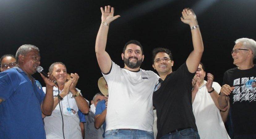 Com forte presença popular, Bruno Silva participa de evento no povoado Santa Maria