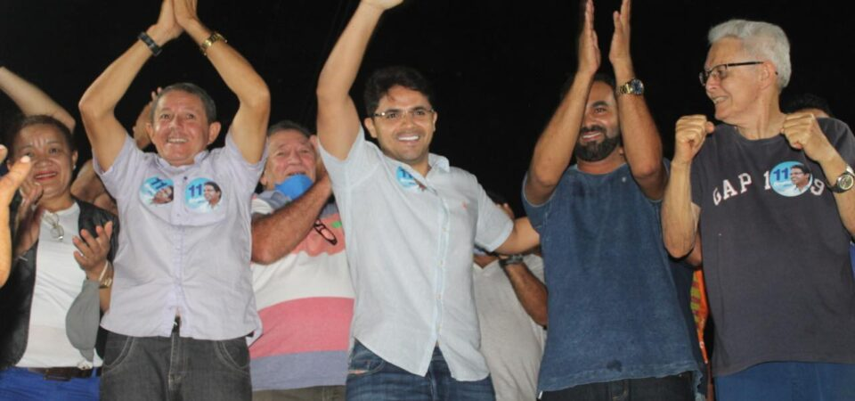 Bruno Silva participa de evento político no povoado Carmo