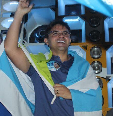 Bruno Silva participou do Pancadão do 11 para celebrar aniversário de Coelho Neto