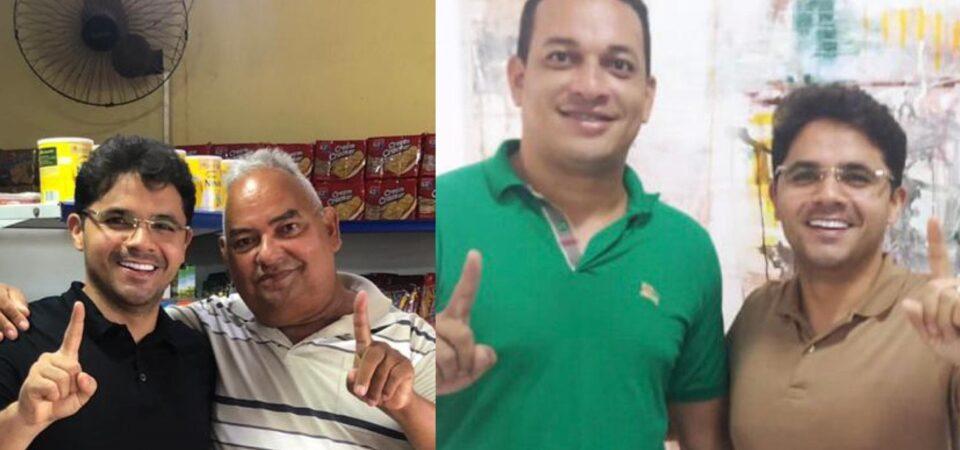 Bruno Silva recebe declaração de apoio do ex-vereador Pino e do filho Neto Tavares