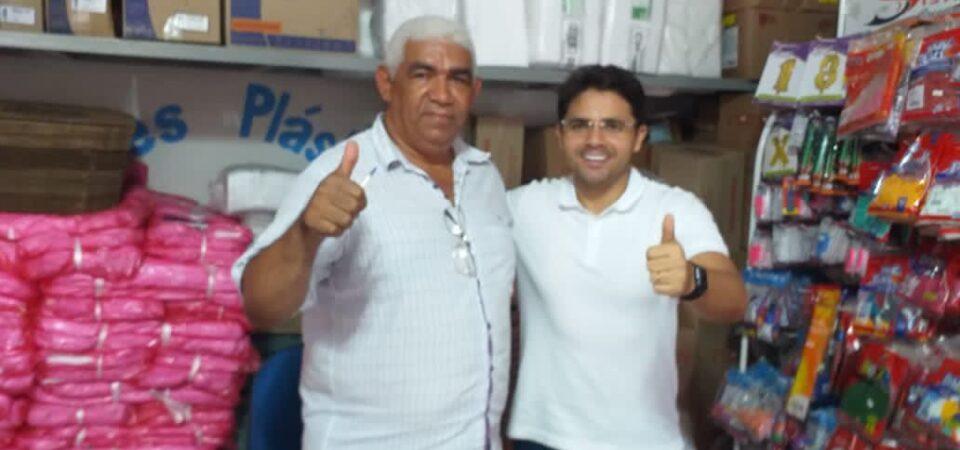 Bruno Silva mantém agenda de diálogos e busca de apoios em Coelho Neto