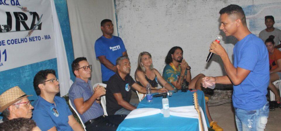 Bruno Silva participa de encontro com produtores culturais de Coelho Neto