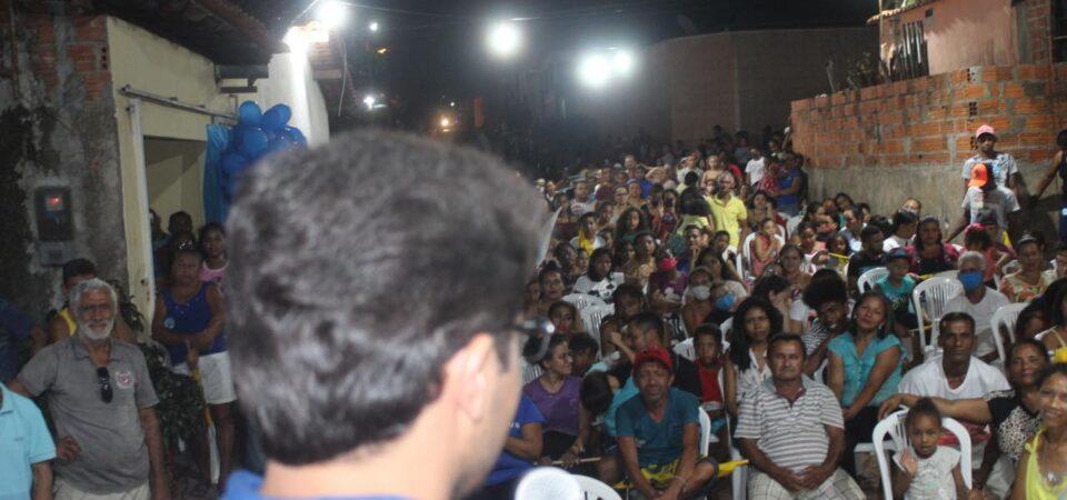 Com Raimundo Beira Rio e Elson Maranhão, Bruno Silva participa de reunião no Bairro Sarney