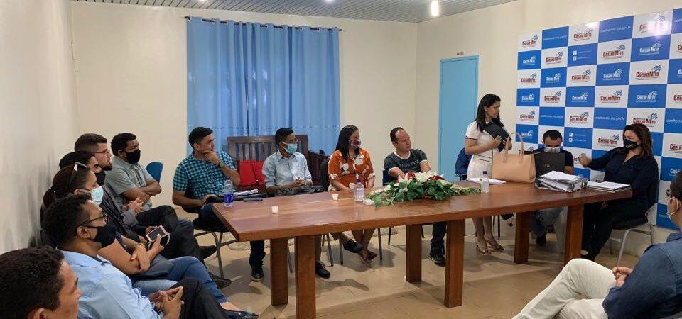Equipe de Transição realiza primeira reunião de trabalho em Coelho Neto