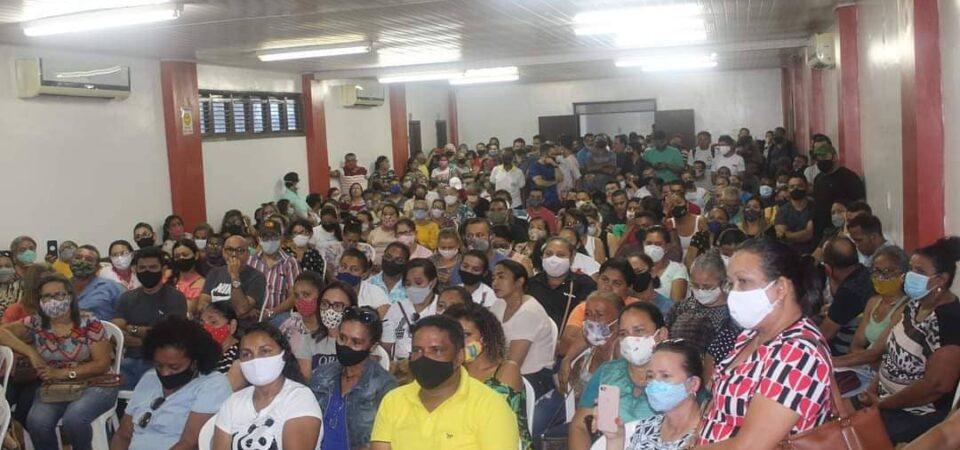 Servidores se unem e mostram força para impor mais uma derrota ao PT em Coelho Neto