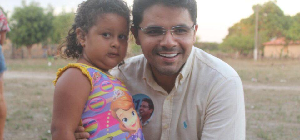 Ao lado de Rafael Cruz, Bruno Silva participa de visitas e reunião no povoado Santana Velha