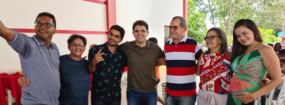 Prefeito eleito Bruno Silva participa da Confraternização de Servidores