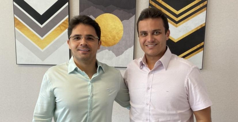 Em audiência com Glalbert Cutrim, prefeito eleito Bruno Silva reforça parceria em favor de Coelho Neto