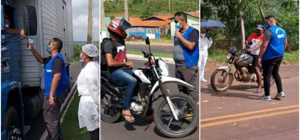 Covid-19: Prefeitura de Coelho Neto implanta barreiras sanitárias