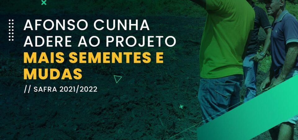 Afonso Cunha adere ao Projeto Mais Sementes e Mudas