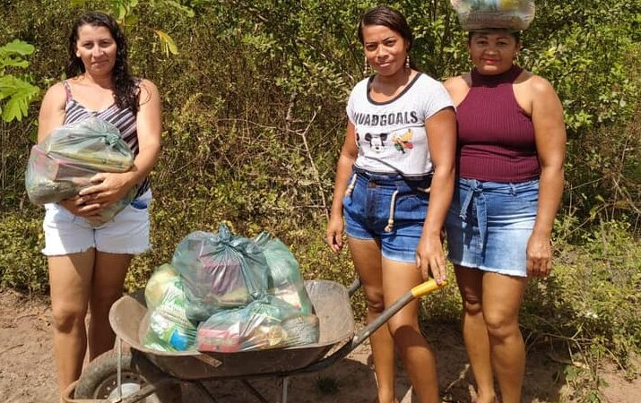Prefeitura inicia entrega de kit merenda escolar na zona rural de Coelho Neto