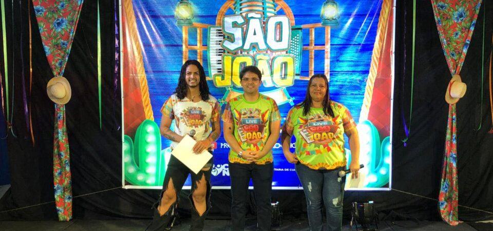 Com Live Junina, Bruno Silva resgata cultura e amplia apoio a artistas de Coelho Neto