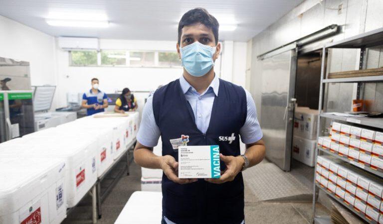 MA recebe remessa de 175,5 mil doses de vacinas AstraZeneca