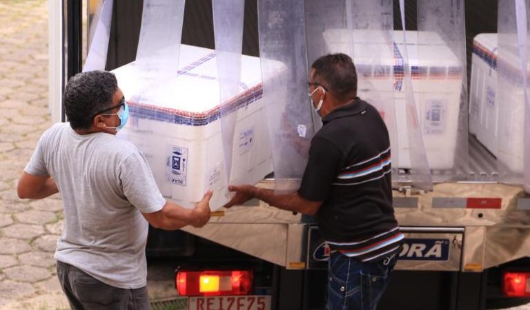 Maranhão recebe mais 114.660 doses da vacina Pfizer para continuidade da aplicação da terceira dose no estado